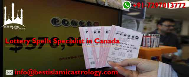 Lottery Spells Specialist in Canada